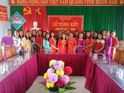 Lễ tổng kết hội đồng sư phạm trường mầm non Q Tiên